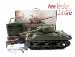 New 1:16 Radio Control Mato Sherman M4A1(76)W Tank 2.4G Version