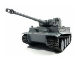 Mato 1/16 Complete 100% Metal Tiger I Tank (Recoil, Grey,Ready to Run)