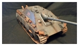 New 1:16 Jagdpanther Custom Paint Grey 204 with Side Armor Skirts Metal Upgrades included